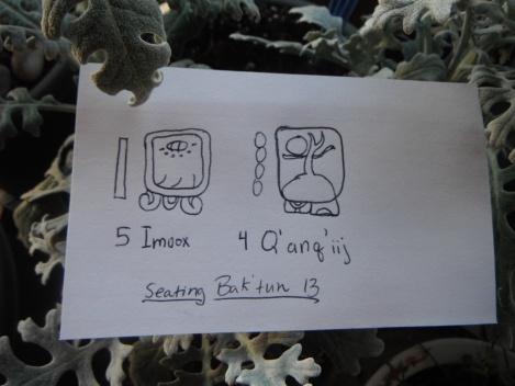 December 22, 2012 on the Mayan calendar