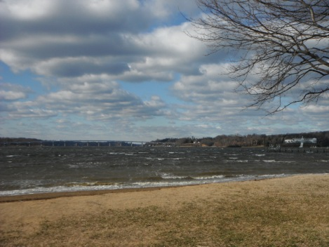 what awesome rolling clouds - severn river, annapolis maryland