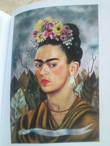 "Frida Kahlo - ""Self-portrait dedicated to Dr. Eloesser"" 1940"