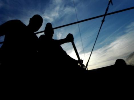 sailing the rainbow - Chesapeake Bay