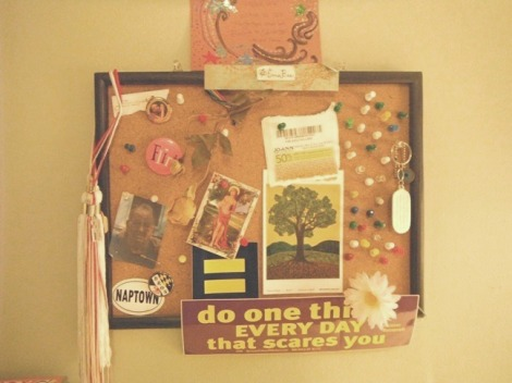 cork board inspriations