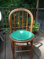 chairs that lived in the kitchen of the boatyard for decades