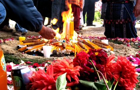 Mayan Fire Ceremony of Protection - Guatemalan Highlands