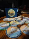 water color sailboat card collection - to be finished