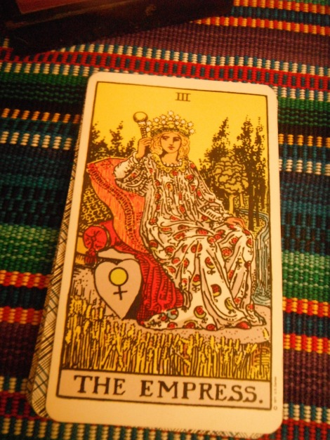 the empress - waite tarot deck