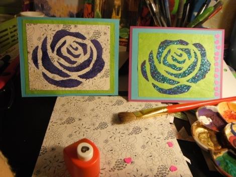 Rose Stencil II