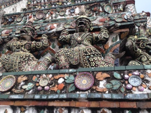Wat Arun - Temple of the Dawn, encrusted with pottery pieces