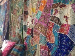 lovely colored and textured tapestries