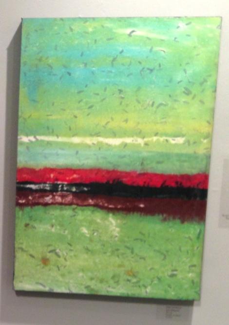 Jorge Bernal encaustic painting