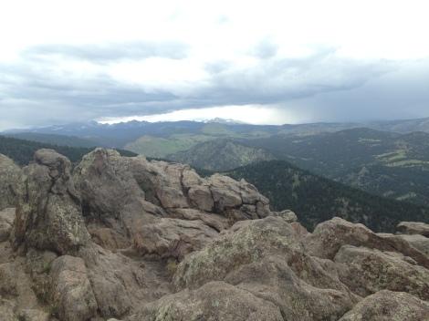 Rockies near Denver