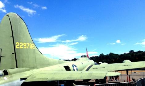 B-17 bomber