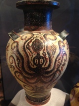ancient octo pottery - Monterey Aquarium - see I'm not the only one!
