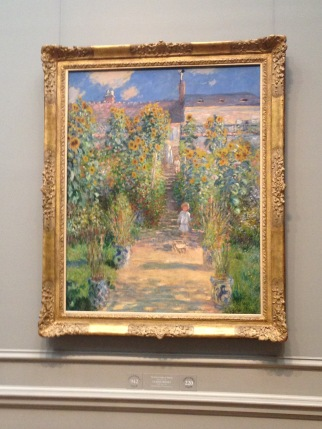 A famous painting in the National Gallery of Art, a copy of which hung in the living room as a kid. Reminds me of home
